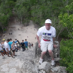 At Coba in Mexico