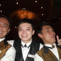 Our wonderful wait staff