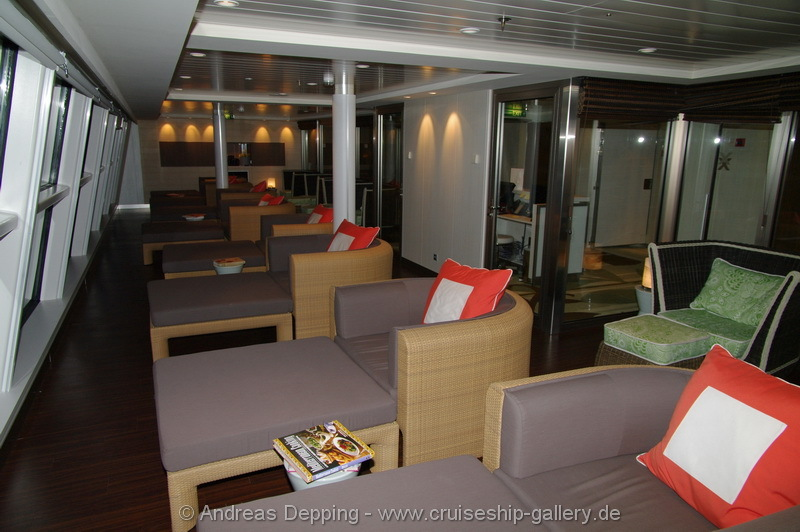 Relaxation Lounge for Aquaclass guests - Celebrity Eclipse