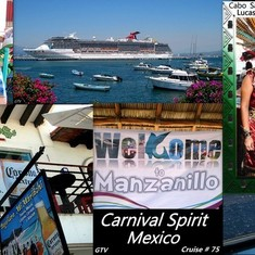 cruise on Carnival Spirit to Mexico