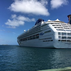 The SKY at Nassau port.