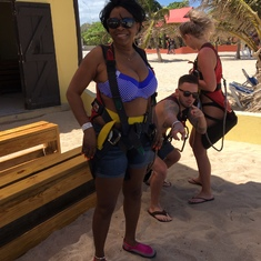 Labadee (Cruiseline Private Island) - Ready to Zipline for the Family