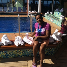 Charlotte Amalie, St. Thomas - Chilling with the towel animals