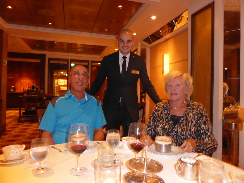 Our Table - Normandie Restaurant - Celebrity Summit