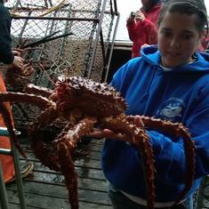 Aleutian Ballad Crab Boat