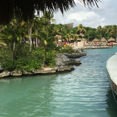 Lagoon at Xcaret