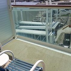 Cabin 6344 Balcony