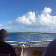 Gorgeous scenery of ocean