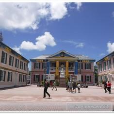 Nassau, Bahamas - Parliament Square.  Nassau.