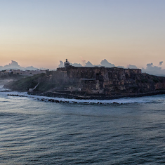 The fortress of El Morro, in San Juan