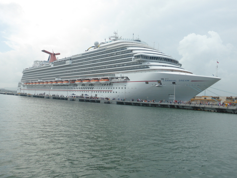 Ship in Port - Carnival Dream
