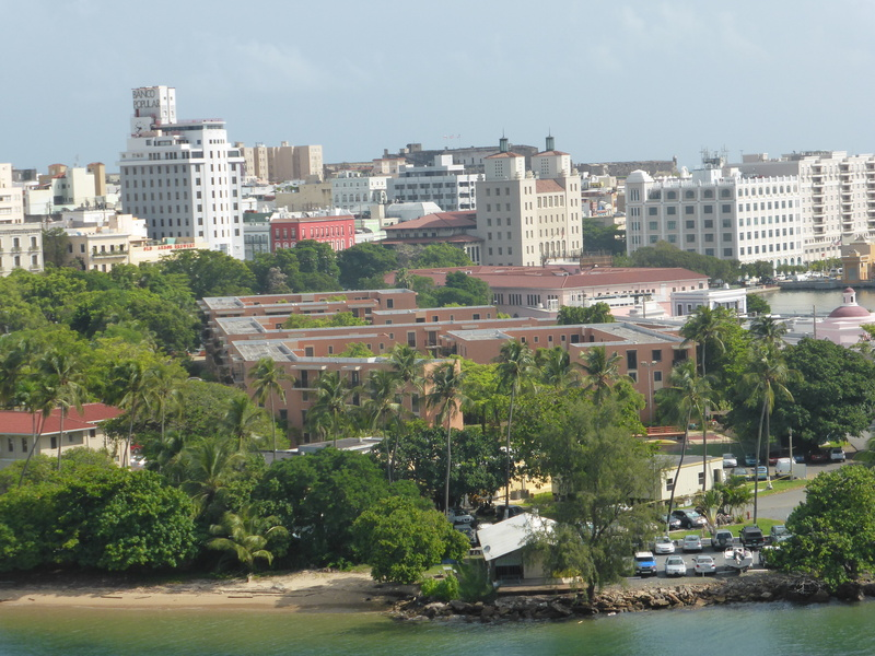View of San Juan From Port - Carnival Dream