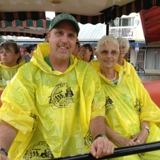 Wet, but fun, Conch Tour Train trip