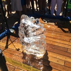 Charlotte Amalie, St. Thomas - Ice sculpture