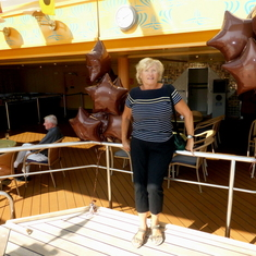 Seattle, Washington - Sailaway Party on Embarkation Day
