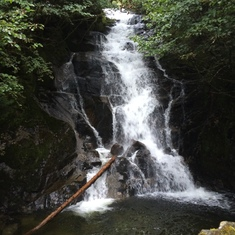 Ketchikan, Alaska - Waterfall - Ketchican