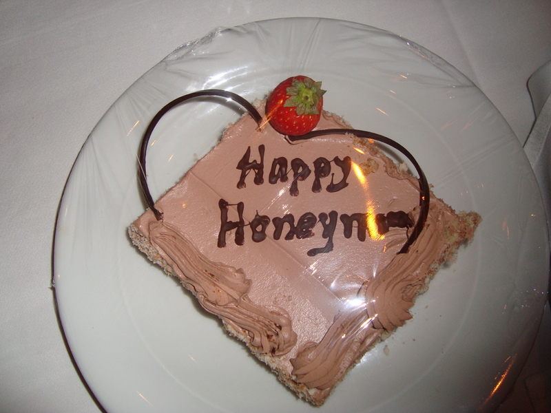 Special cake from the waitstaff - Norwegian Epic