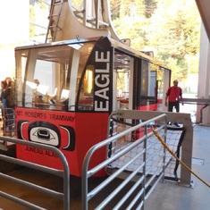 Tram in Juneau
