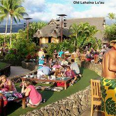 Kahului, Maui - The lu'au in Maui