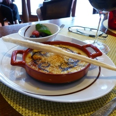 Celebrity Constellation - Creme Brulee in Tuscan Grill