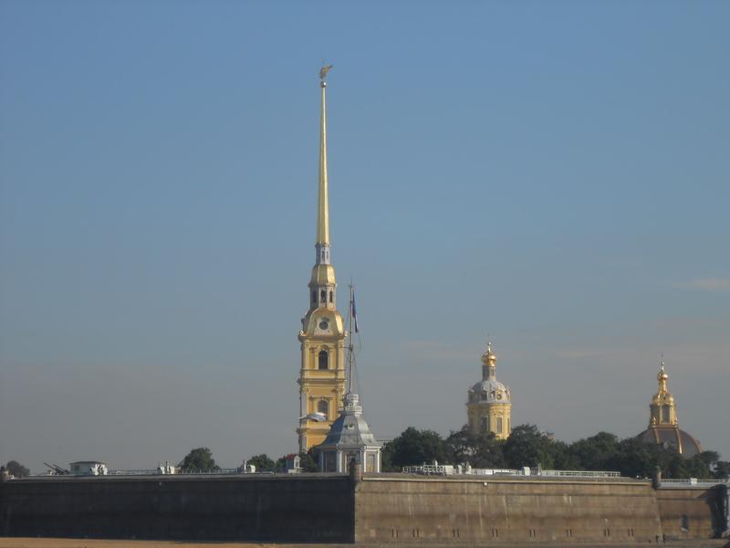 Yep - gold. St. Petersburg. - Emerald Princess
