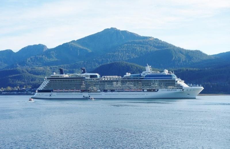 Celebrity Solstice in Juneau - Celebrity Solstice