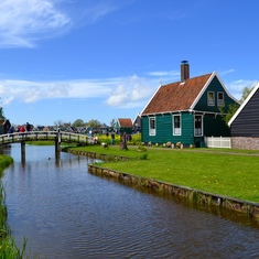 Preserved Dutch village