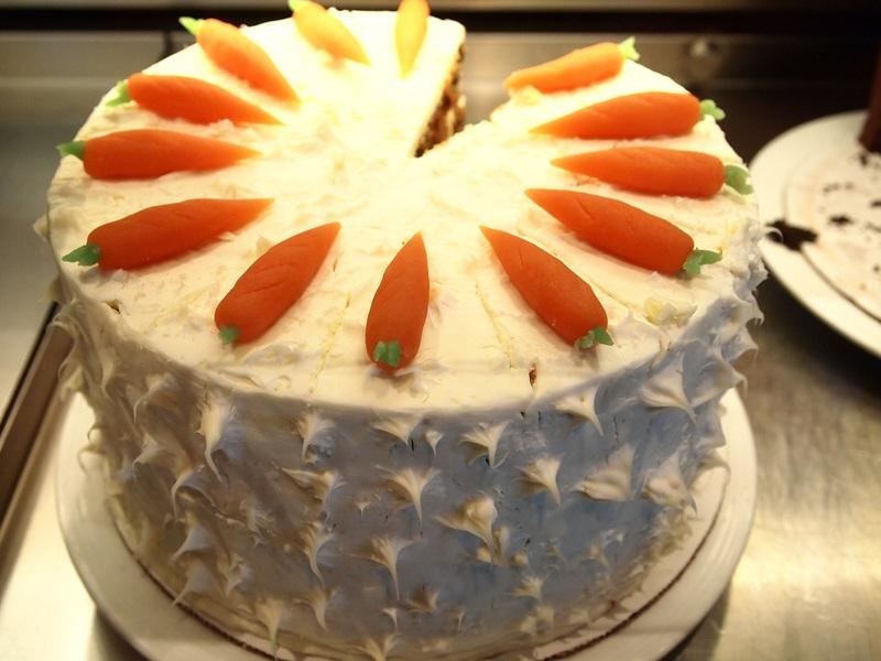 Carrot cake - Carnival Splendor