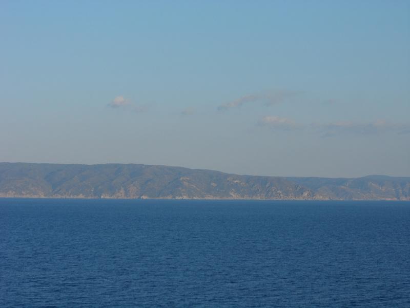 Arriving in Turkey - MSC Poesia