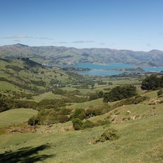 en Route from Akaroa to Christ Church