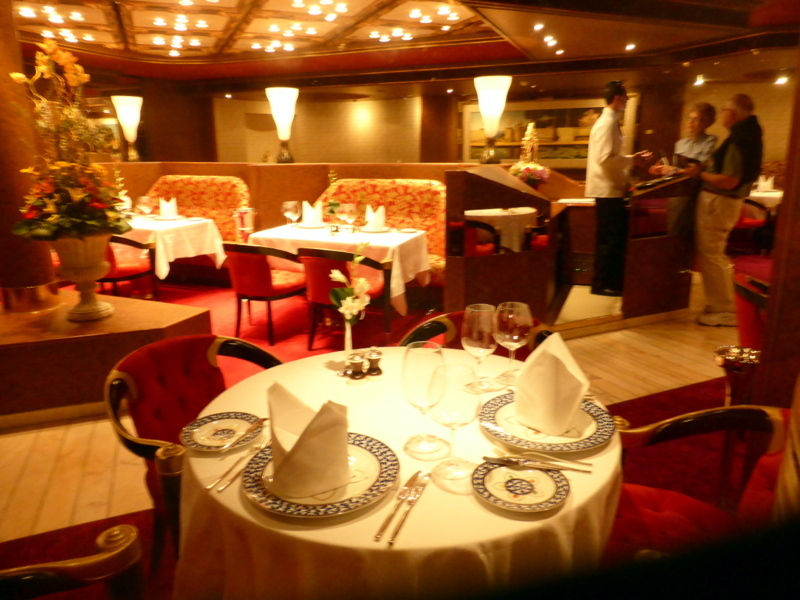 Inside the intimate and charming Pinnacle Restaurant - Amsterdam