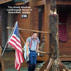 The Lumberjack Show in Ketchikan