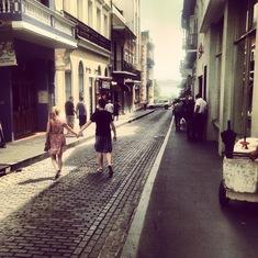 City street in San Juan