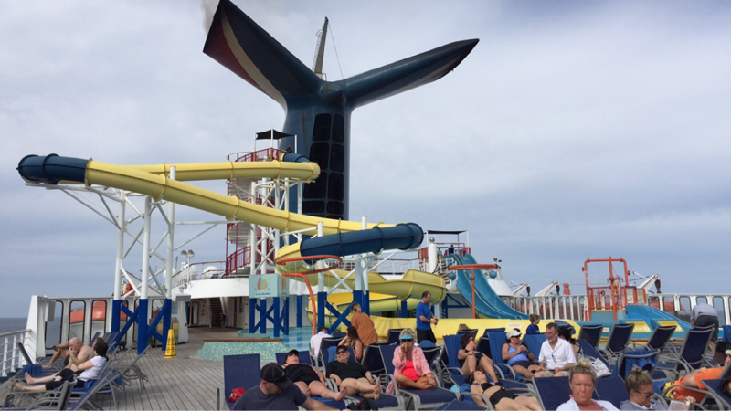 Carnival Ecstasy, Pools, Carnival Waterworks