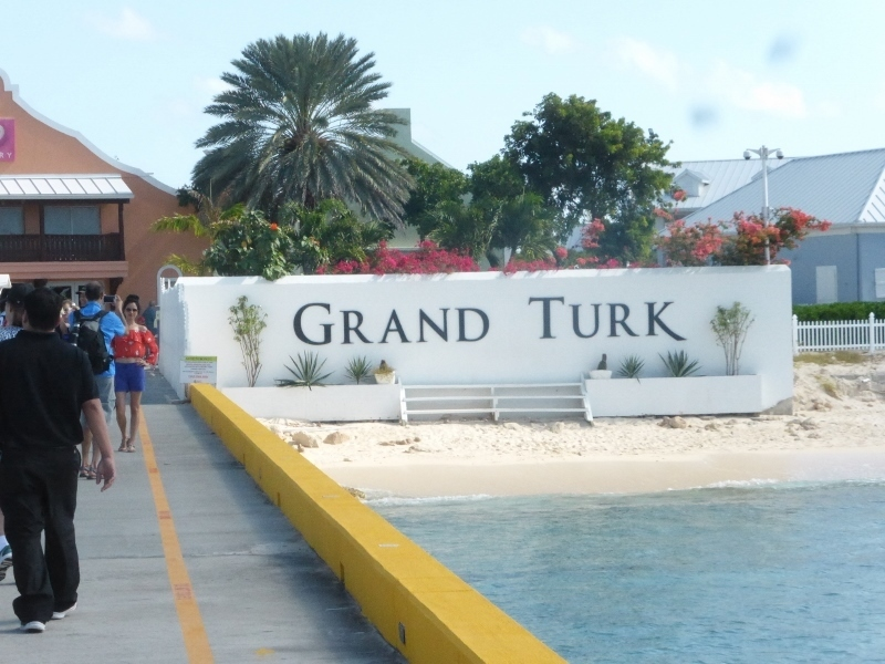 From the dock at Grand Turk - Koningsdam