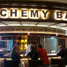 Alchemy Bar on Carnival Sunshine