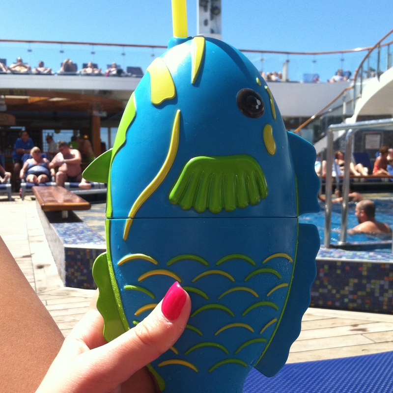 Picture Of Fish Drink🐠 Carnival Liberty