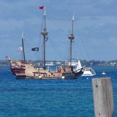 Captain Jack Sparrow's ship