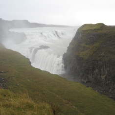 Waterfalls everywhere in Iceland.