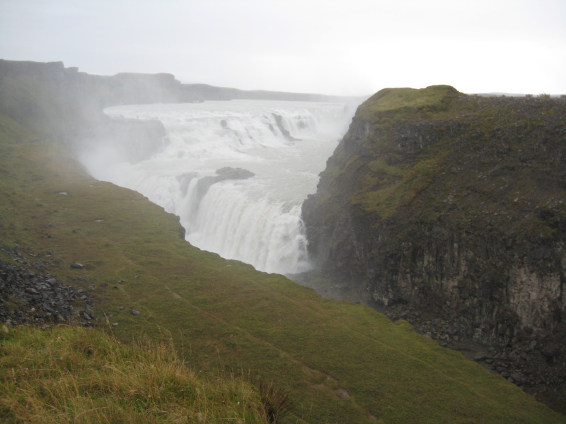 Waterfalls everywhere in Iceland. - Royal Princess