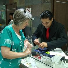 Shopping at Cozumel