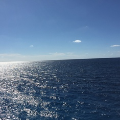Cozumel, Mexico - Day at sea