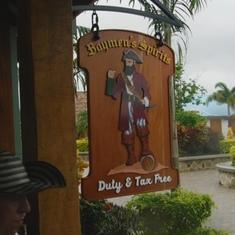 Rum shop on Harvest Key
