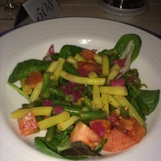Castries, St. Lucia - Variety of beans salad