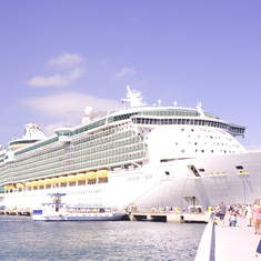 Freedom of the Seas in Labadee, Haiti