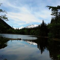 Lower Dewey Lake, a beautiful hike in Skagway