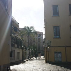 Beautiful comfortable Sorrento Streets.