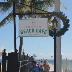 Key West, Florida - Key West Beach Cafe