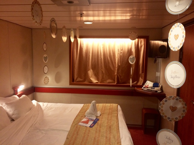 Carnival Fascination cabin E48 - 2 people room