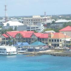 Ocho Rios, Jamaica - Kingston from the Pearl